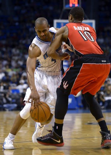 DeRozan leads Raptors to win over Magic