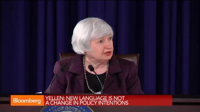 Yellen: Russia Spillover to U.S. Likely to Be Small