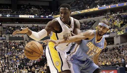 Miller leads Nuggets past Pacers 92-89