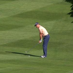Jason Dufner's approach to 7 feet yields birdie at AT&T Pebble Beach