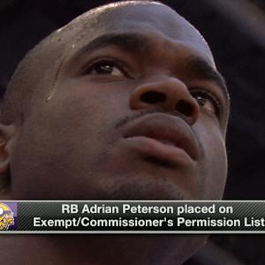 How do the Minnesota Vikings prepare for games without running back Adrian Peterson?
