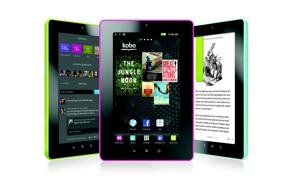 kobo vox ebook color tablet ereader e-reader
