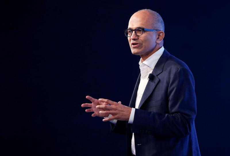 Microsoft CEO visiting China as anti-trust probe nears third year