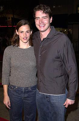 Premiere: Jennifer Garner and Scott Foley at the Westwood premiere of New Line's Sugar and Spice - 1/24/2001