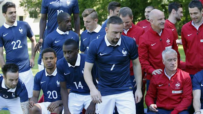 France winger Franck Ribery ruled out of World Cup