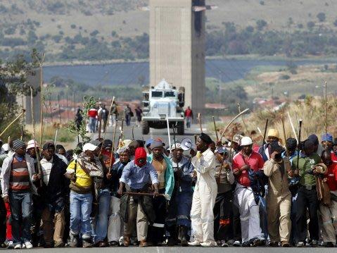 south africa strike