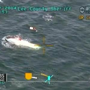 Dramatic rescue: Seven saved from capsized boat off Florida coast