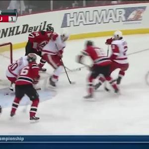 Jonas Gustavsson goes behind-the-back on save
