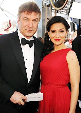 Alec Baldwin, Wife Hilaria Thomas on Pregnancy Rumors: &quot;No Comment&quot;