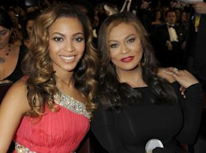 Beyonce Knowles and Tina Knowles at the 40th NAACP Image Awards at the Shrine Auditorium, LA, February 12, 2009  -- Getty Premium