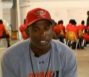 Prime Prep co-head coach Deion Sanders — YouTube