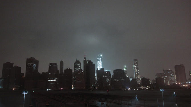 Superstorm Sandy causes flooding in New York City