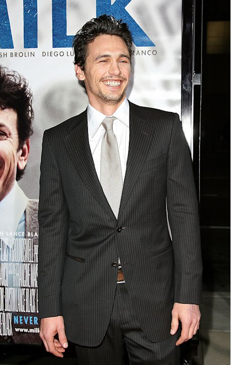 Milk Los Angeles Premiere 2008 James Franco