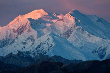 National Park Service handout photo shows Mount McKinley in Alaska