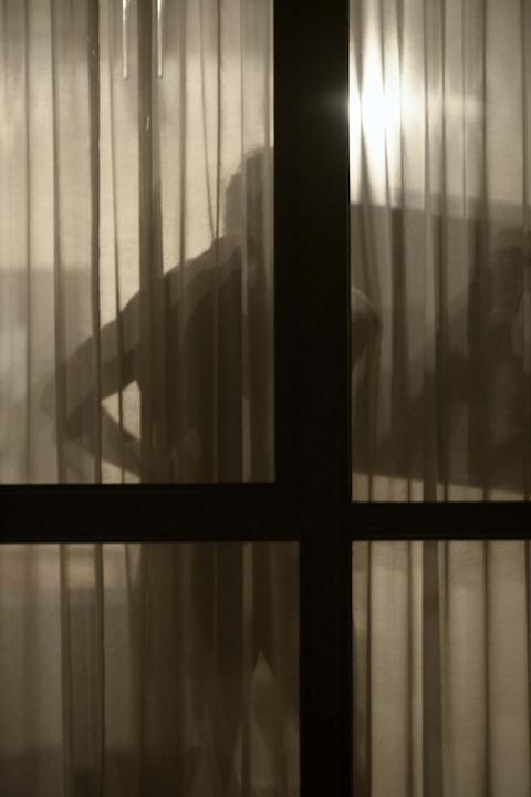 "Arne Svenson, The Neighbors #10, 2012, pigment print, 45 x 30"", ed. 5"