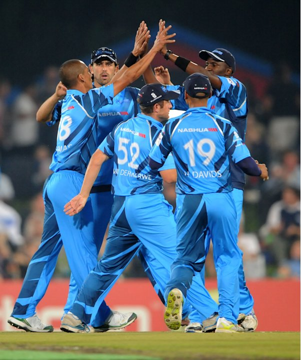 CLT20 Semi-Final: Nashua Titans v Sydney Sixers