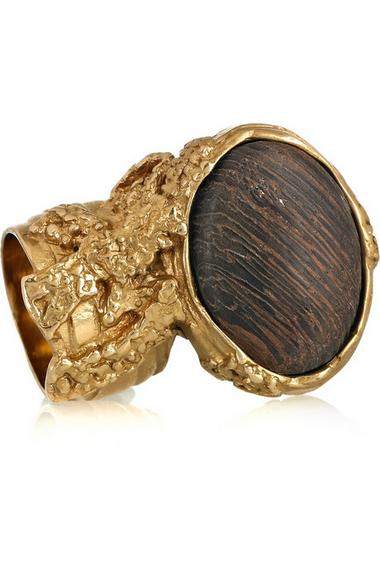 Yves Saint Laurent arty natural ring, $275, at Net-a-Porter