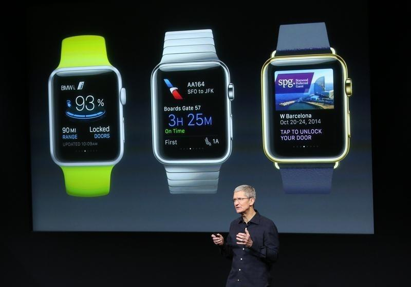 Apple lets companies fine-tune apps before watch debut: Bloomberg