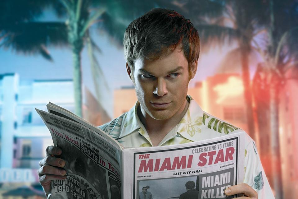 Michael C. Hall receives a Best Actor (Drama) Golden Globe nomination for his role as Dexter on  Dexter.