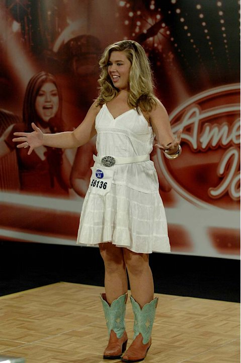 Charleston contestant: LAUREN BRANHAM, 17, Camden, SC auditioning on the 7th season of American Idol.