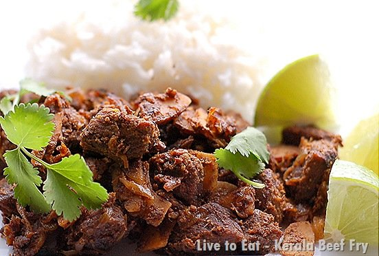 Kerala beef fry