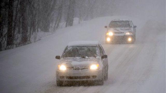 Winter storm warning in effect for Northeast