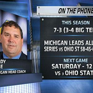 Brady Hoke on Ohio State match-up