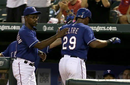 Rangers beat Reds 4-0 for 2nd shutout in row