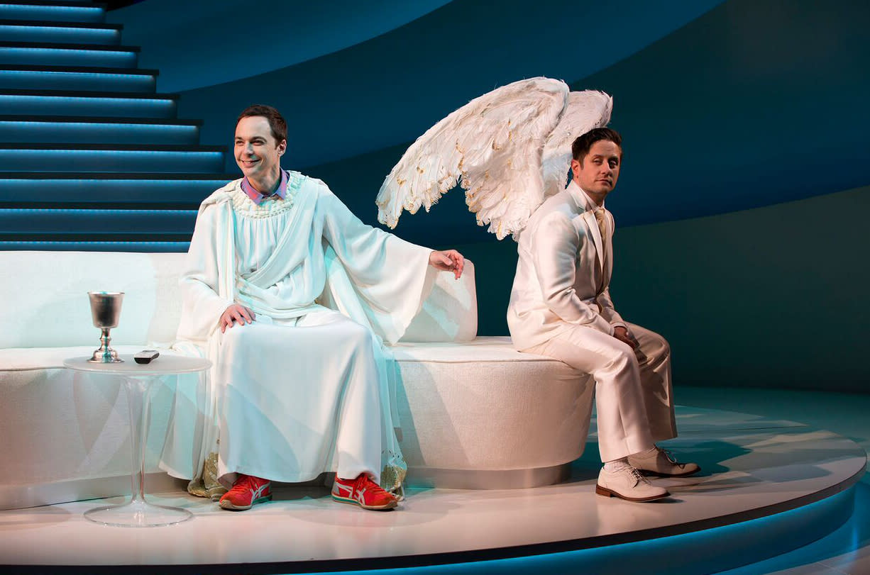 Review: Jim Parsons can't save mindless 'An Act of God'