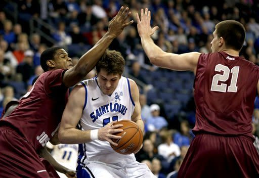 No. 18 Saint Louis routs Saint Joseph's 70-53