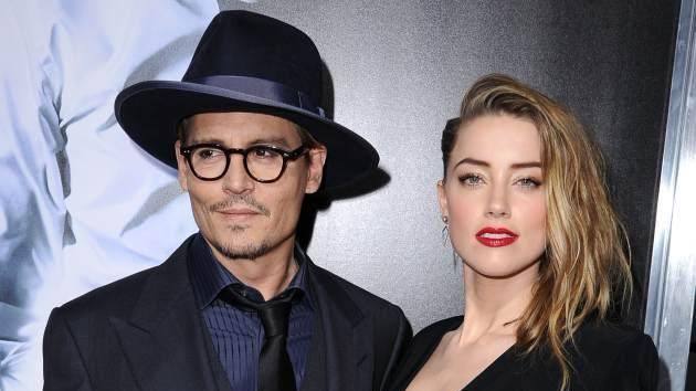 Johnny Depp and Amber Heard -- Getty Images