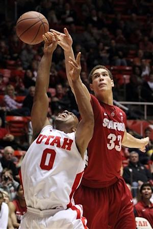 Hines' late 3-pointer lifts Utah to 58-57 win