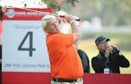 HONG KONG - DECEMBER 05: John Daly of USA in action during the first round of the 2013 Hong Kong Open at The Hong Kong Golf Club on December 5, 2013 in Hong Kong, Hong Kong. (Photo by Ian Walton/Getty Images)