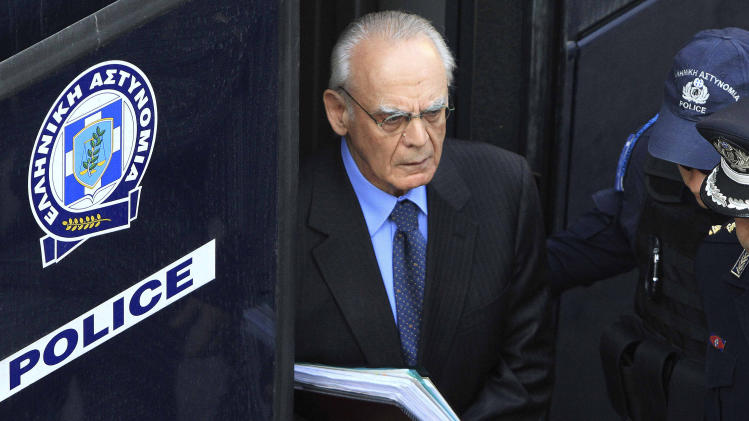 Greek ex-minister jailed for 20 years for graft