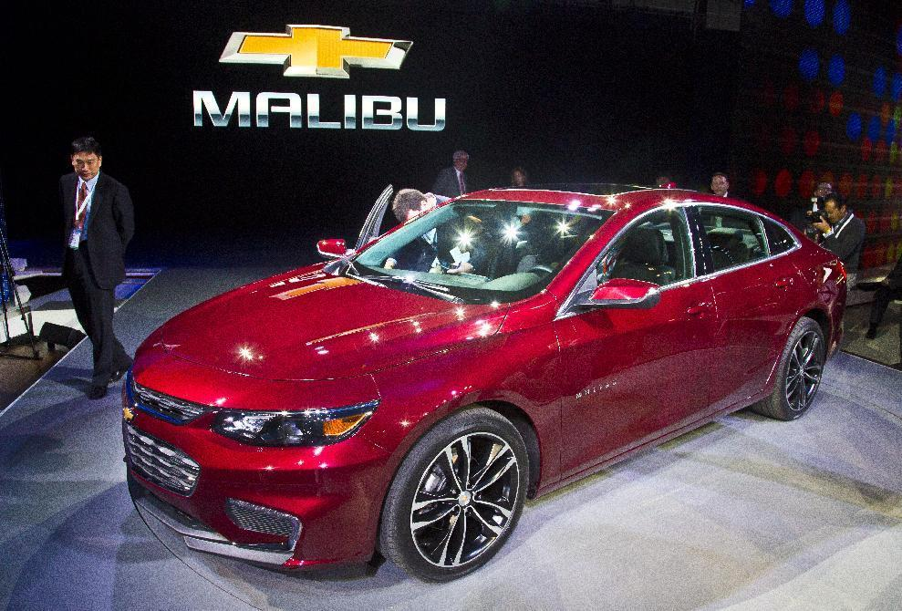 5 things to know about GM's revamped Chevy Malibu