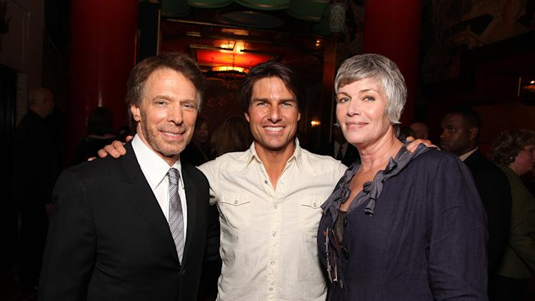 A Cinematic Celebration of Jerry Bruckheimer Jerry Bruckheimer Tom Cruise Kelly McGillis