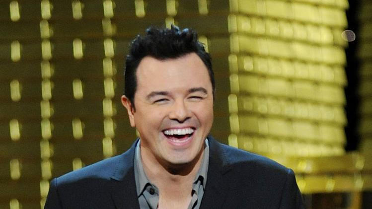 Roast Master Seth MacFarlane at the Comedy Central Roast Of Donald Trump.