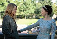 Blake Lively, Leighton Meester | Photo Credits: Giovanni Rufino/The CW