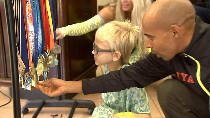 Medals of Courage give sick children hope