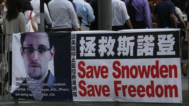 The Government Files Espionage Charges Against Edward Snowden
