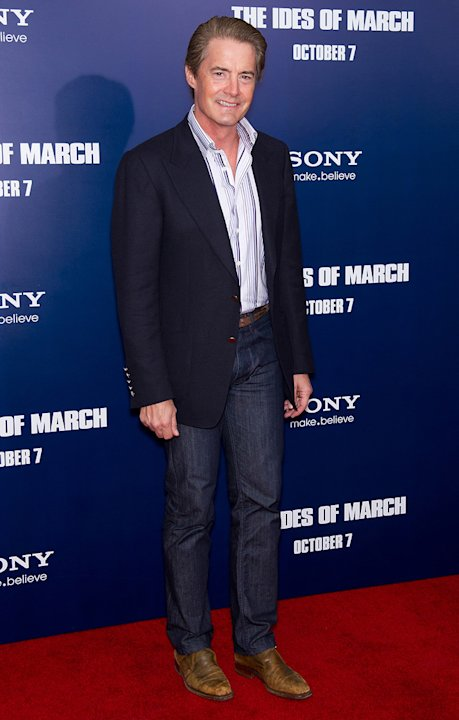 The ides of March 2011 NY Premiere Kyle MacLachlan