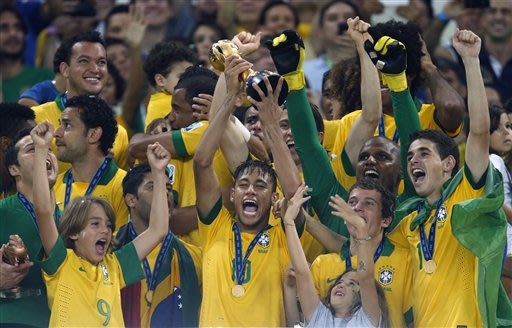 Brazil surges to 9th in FIFA rankings; US 22nd