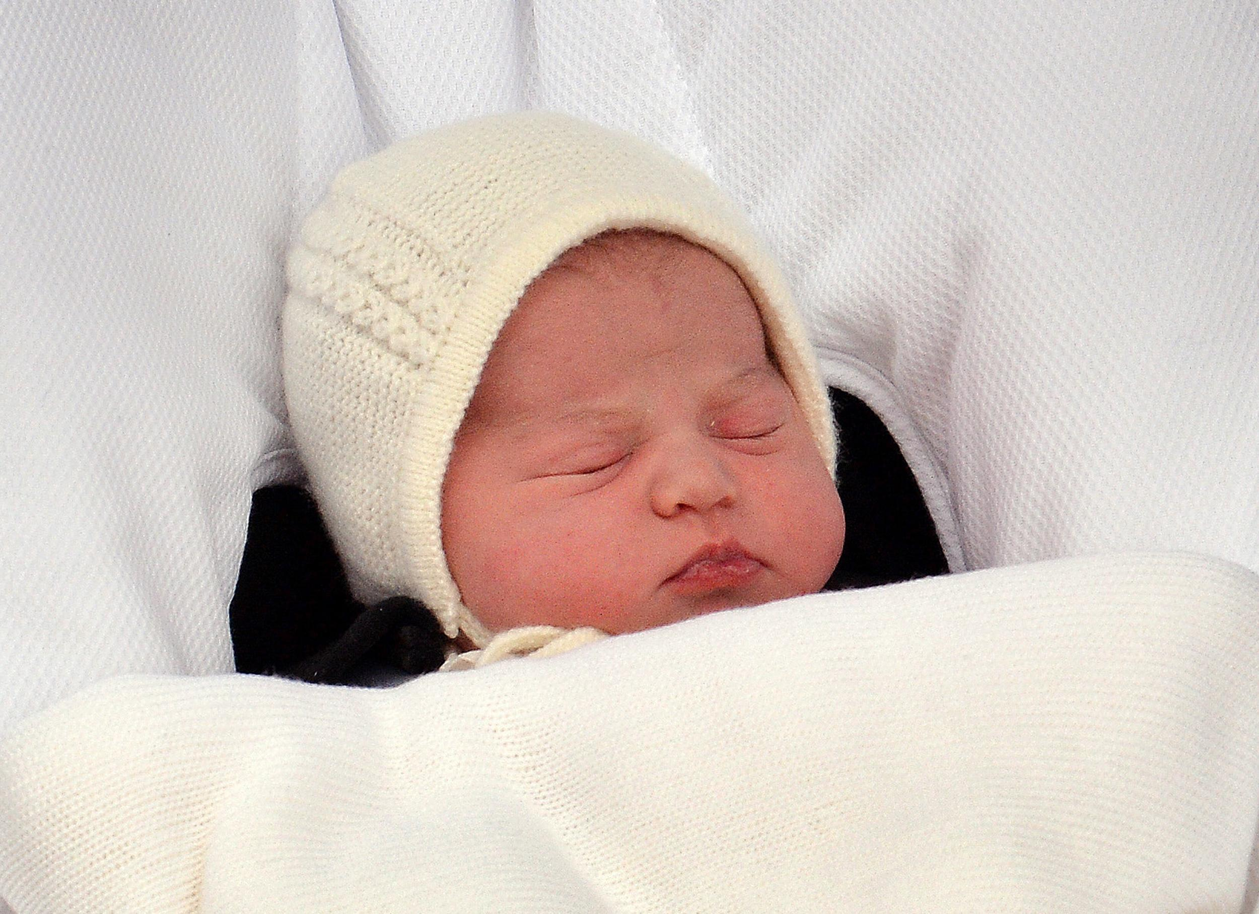 Britain's baby princess named Charlotte Elizabeth Diana