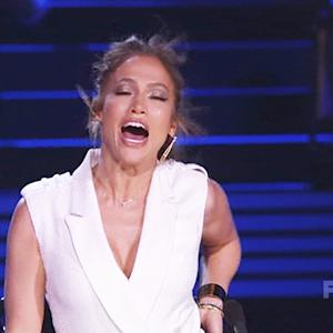 J.Lo Whips 'Idol' Judges & Fans Into a Frenzy