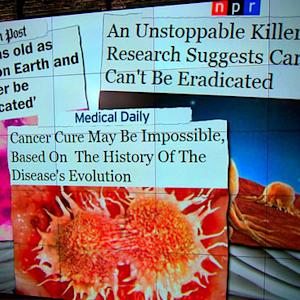 Cancer may never be wiped out, study shows