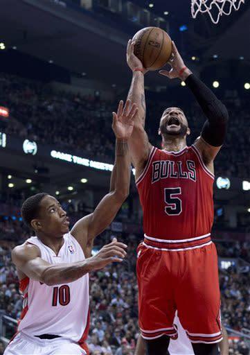 Johnson scores 24 as Raptors beat Bulls 97-88