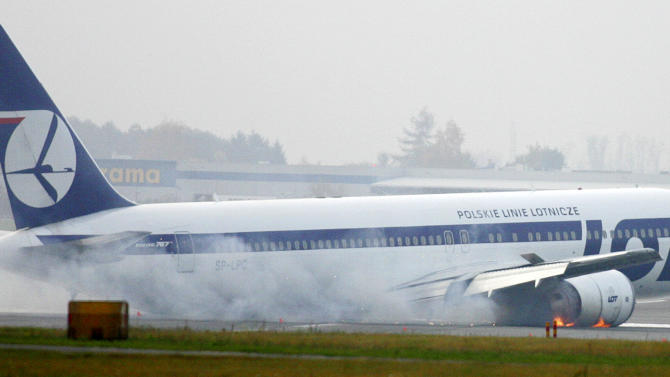 Experts give causes of emergency landing in Poland