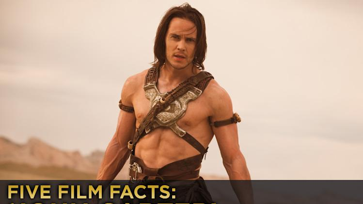 Five Film Facts John Carter