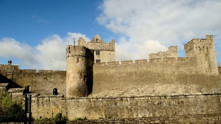 Travel Lakshmi Sharath Ireland Cahir Castle