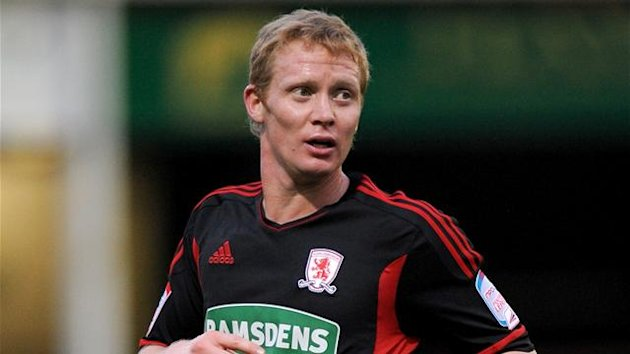 2011 Middlesbrough Barry Robson